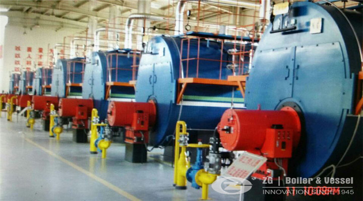 industrial natural gas fired steam boiler
